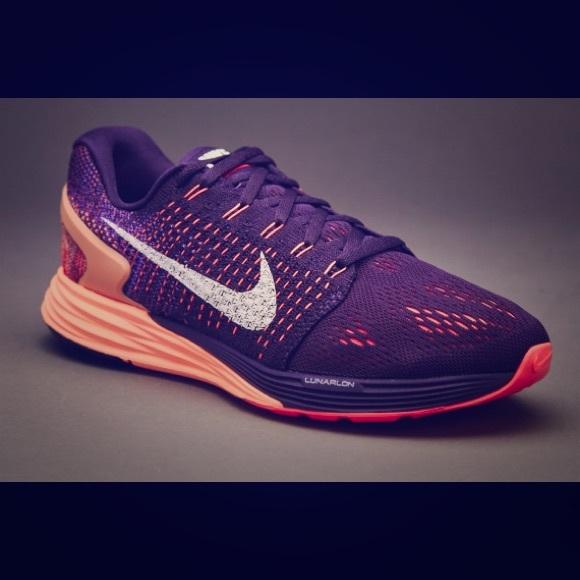 f7fb62adb590 Nike Women s Lunarglide 7 Shoes Size 7.5 Purple. M 5b4c0a0e1b3294625367c5c3